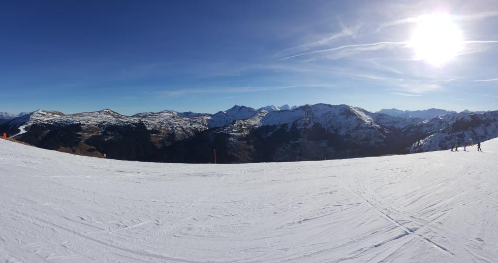 Panorama Österreich Hinterglemm 2015